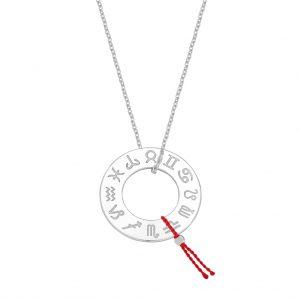 Naszyjnik My Zodiac – srebrny / 70 cm