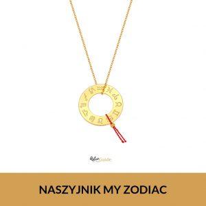 Naszyjnik My Zodiac – żółte złoto / 50 cm
