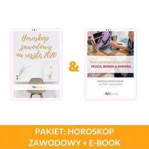 PAKIET: Horoskop zawodowy + eBook Nowy Paradygmat Zarabiania